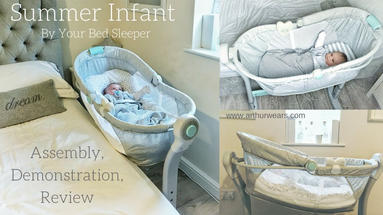 d0ef6bcf2f00 Summer Infant - By Your Bed Sleeper - Assembly