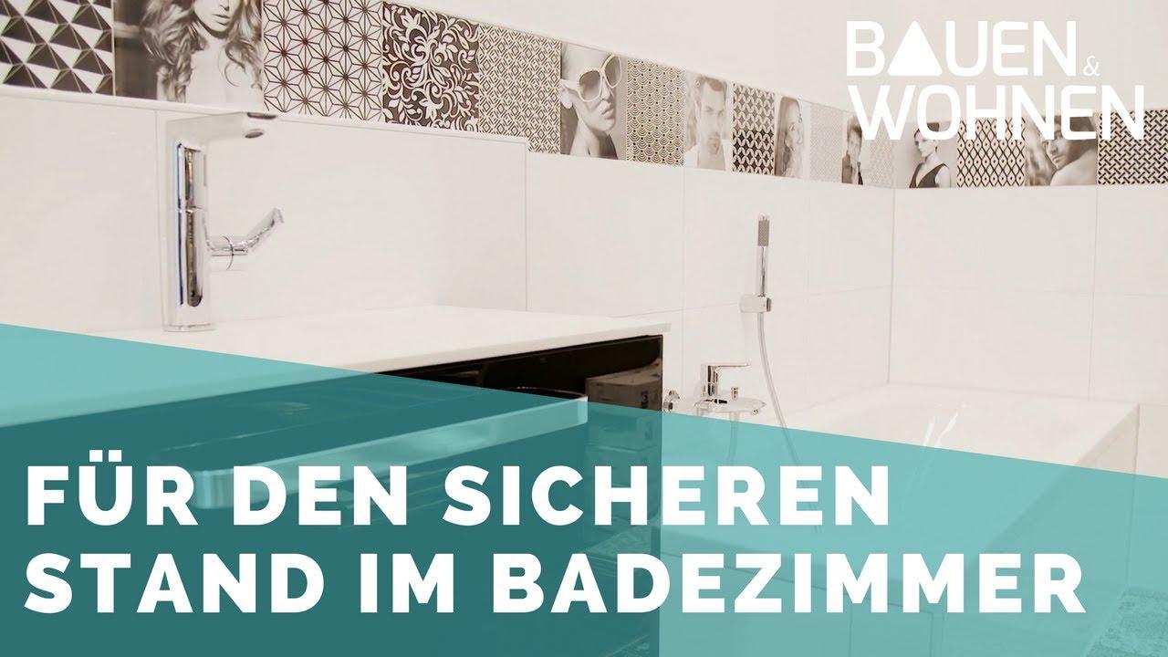 Badezimmer: Rutschfest Und Sicher   Fliesen Füru0027s Bad