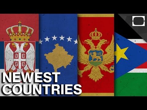 What Are the World's Newest Countries?
