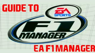 Guide to EA F1 Manager
