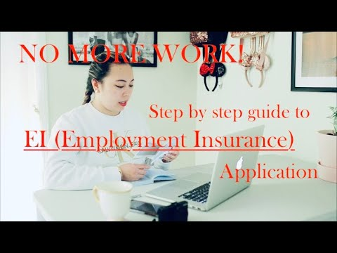 March 2020  Employment Insurance Step By Step Application Online. UPDATE: Say Yes To MSCA.