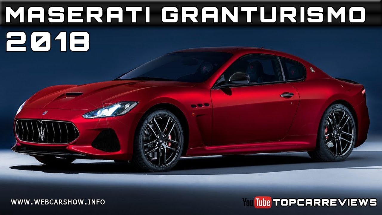 2018 maserati granturismo review rendered price specs. Black Bedroom Furniture Sets. Home Design Ideas
