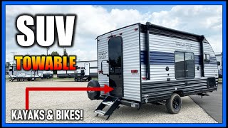 It's a TOWABLE TRUCK CAMPER!! 2022 Wolf Pup 14CC