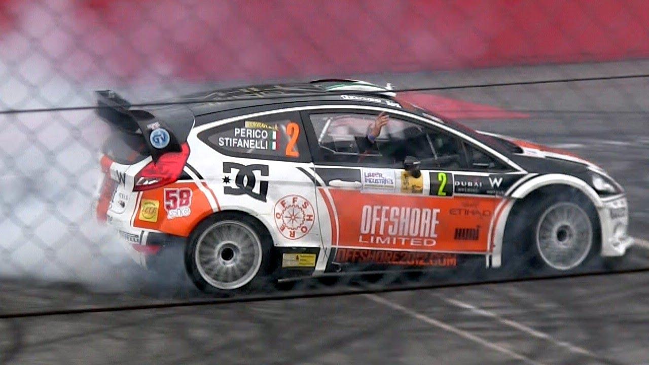 DOVIZIOSO CITROEN DS3  WRC Rally  MONZA   2012