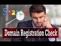 Domain Registration Check | How To Find Out Who Owns A WEBSITE