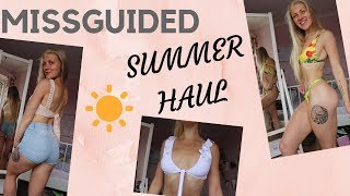 MISSGUIDED SUMMER CLOTHING HAUL FOR UNDER £100!!