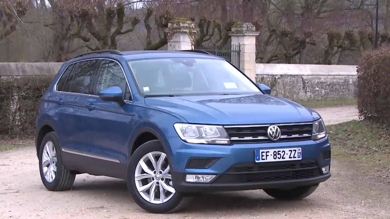 essai volkswagen tiguan 2 0 tdi 115 confortline 2017 youtube. Black Bedroom Furniture Sets. Home Design Ideas