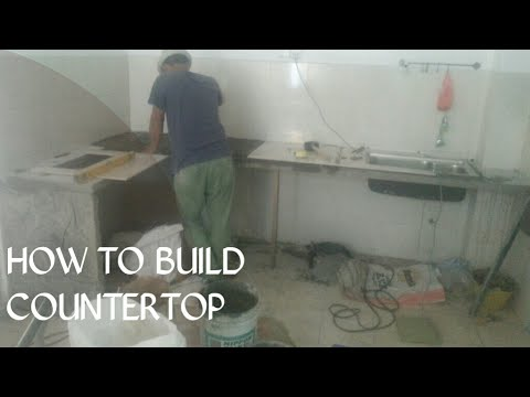 Make Concrete Tabletop Meja Dapur In Yen 7 Shah Alam