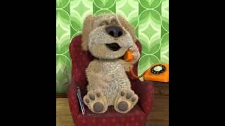 Говорящий пёс Бен говорит по телефону