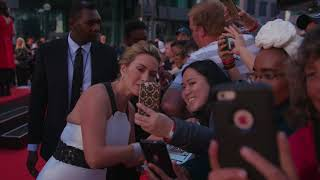 The mountain between us: kate winslet red carpet premiere arrivals tiff 2017