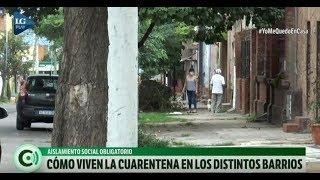 Cómo viven la cuarentan obligatoria en los barrios de la capital tucumana