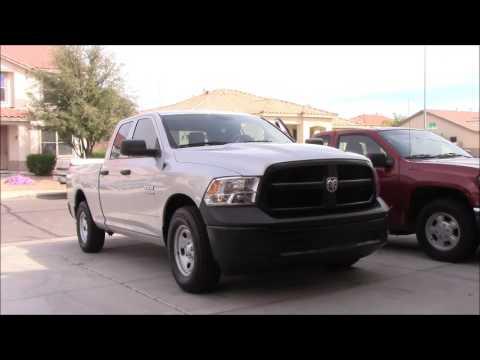 2017 Dodge Ram 1500 V6 - YouTube