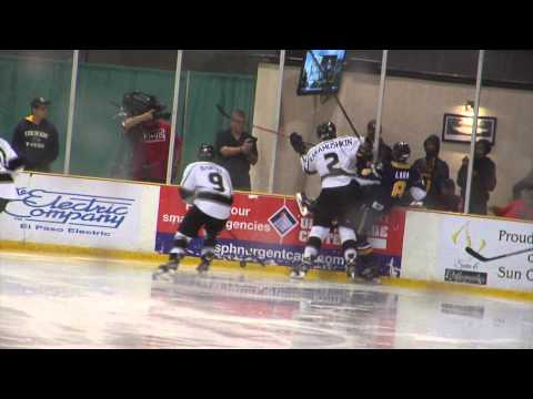 El Paso Rhinos Hockey - playoff shrine 3.14.2014