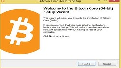 Setup Bitcoin Core Wallet | Bitcoin core wallet | How to use Bitcoin Core