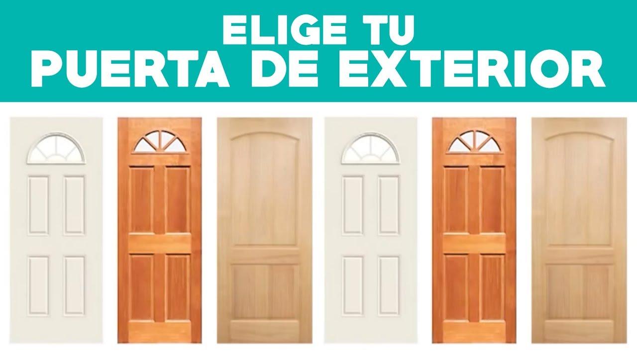 Como Elegir Una Puerta De Exterior