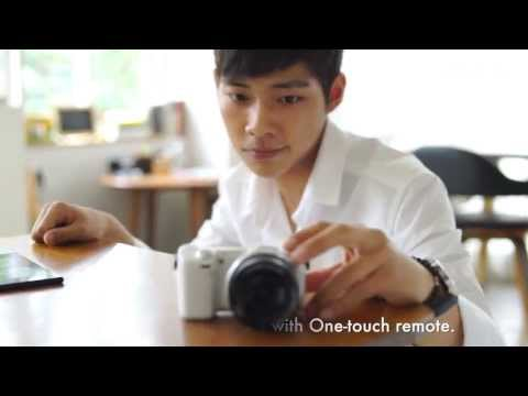 Sony NEX 5T Digital E-mount - NFC video