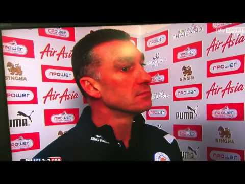 Nigel Pearson interview after Forrest game!