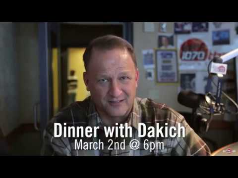 Dinner With Dakich 2017 with Bill Polian