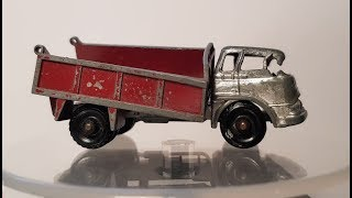 MATCHBOX Restoration No 3b Bedford Tipper Truck 1961