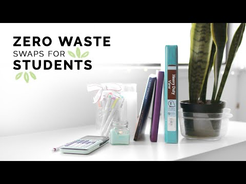 eco-conscious swaps for students ��