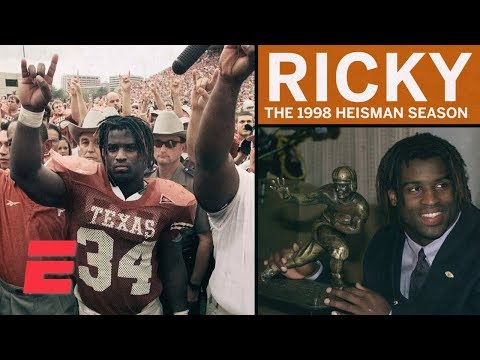 Ricky Williams' Heisman season showcased unique personality and talent | College Football