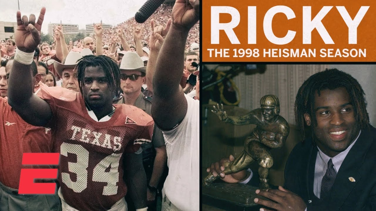 2b0087b36 Ricky Williams' Heisman season showcased unique personality and talent |  College Football