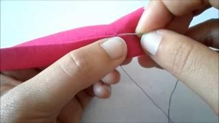 Dobladillo invisible a mano www.prettycosturas.com.