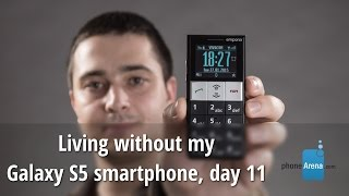 Living without my Galaxy S5 smartphone, day 11
