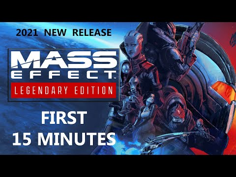 The First 15 Minutes of Mass Effect Legendary Edition (1080p 60 fps) |