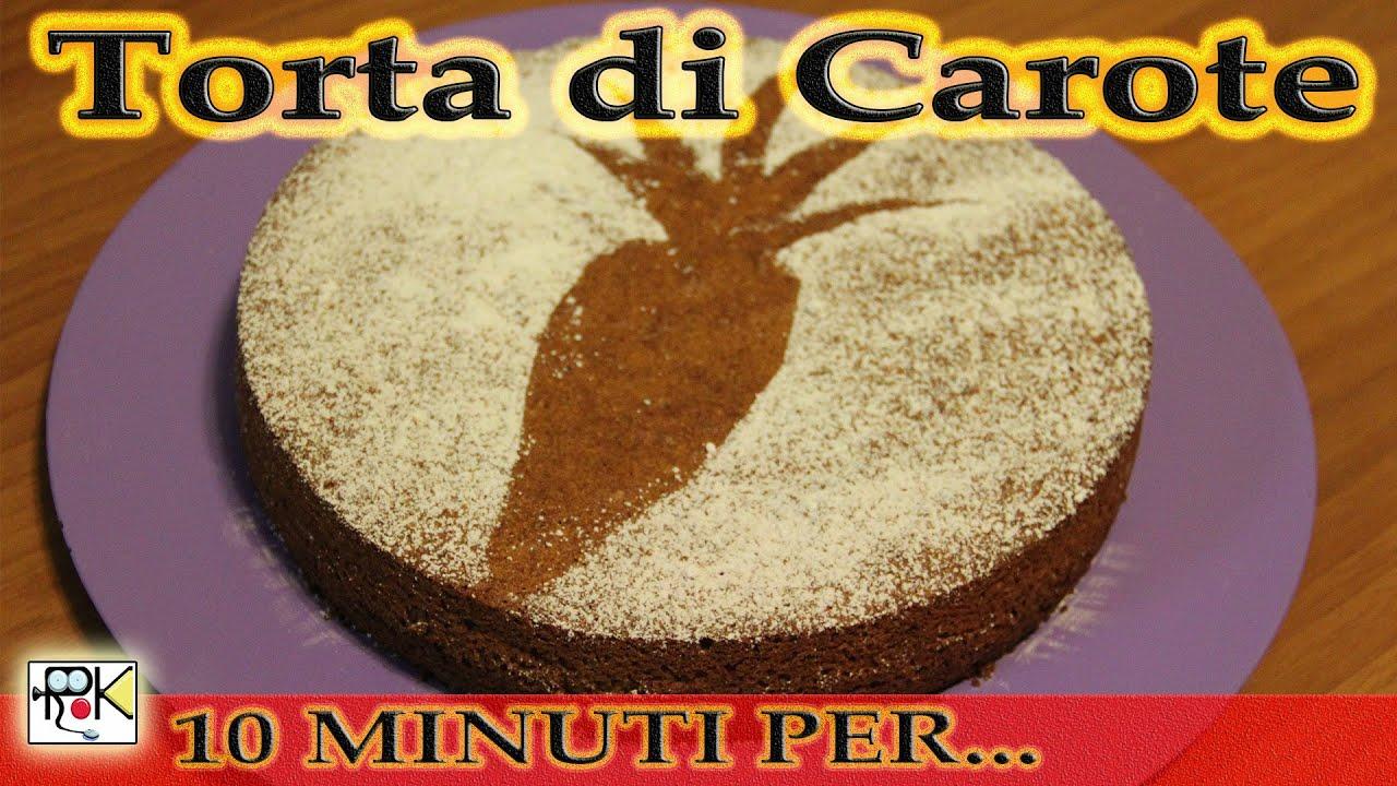 10 minuti per cucinare torta di carote youtube for Cucinare carote