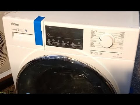 Haier Dc Inverter Front Load Fully Automatic Washing Machine Price In Pakistan 2020 Youtube