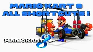 [MK8] All useful shortcuts and fastest paths