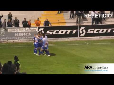 RESUM CD Alcoyano 2-1 CF Badalona (Temporada 2017/2018). ARAMULTIMÈDIA