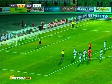 2011/2012 Карпаты 0:5 Шахтер (Фернандиньо 0:2)