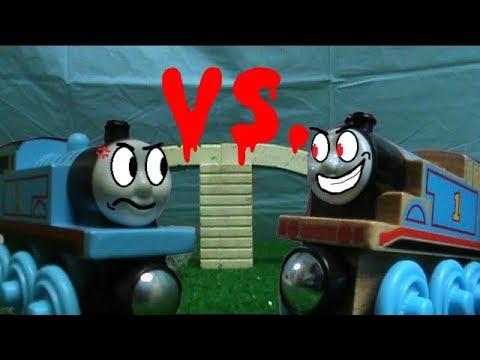 Thomas Wood Vs Thomas Wooden Railway The Ultimate Battle