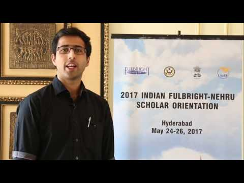 Indian Fulbright Scholars-2017-18