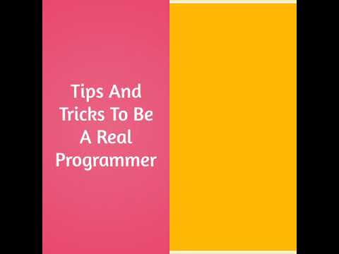 Best Tips And tricks To Be A Real Programmer And Coder||Top 10 must watch video
