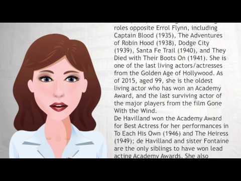 Olivia de Havilland - Wiki Videos