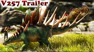 trailer patch 257 giant bee daeodon liopleurodon kentrosaurus tek cave ascension