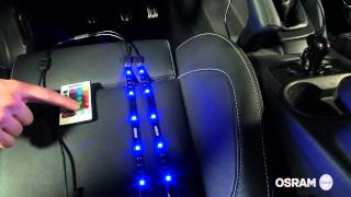 OSRAM LEDambient Tuning Lights - Video Anleitung
