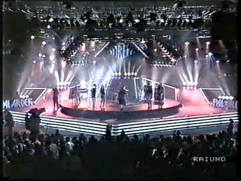 Miguel Bose' - Lay Down On Me - Sanremo 1988