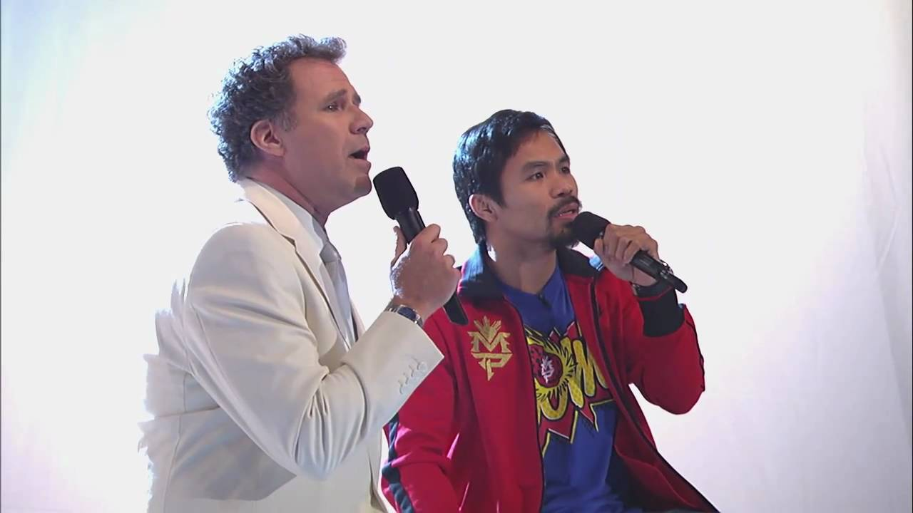 "Will Ferrell & Manny Pacquiao Sing ""Imagine"" - Jimmy Kimmel Live - Will Ferrell & Manny Pacquiao Sing ""Imagine"""