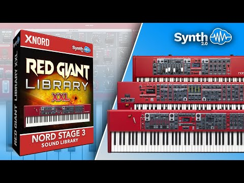 Red Giant Vol 1, 2 & 3 - Sound Banks for Nord Stage 3 (Synthcloud Library)