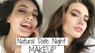 Date Night Makeup | Natural Smokey Eye Tutorial | Jessica Clements ...