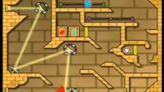 FireBoy and WaterGirl 2 Walkthrough - Levels 29-40 - A Rank