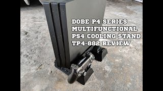 Dobe P4 Series Multifunctional PS4 Cooling Stand Review