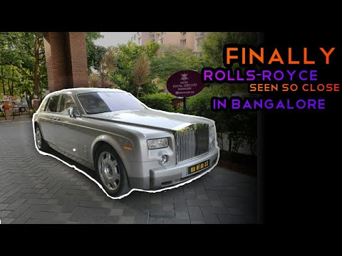 The Luxurious Rolls-Royce Spotted In Bangalore | This Is Just One Of A Kind People Dream For | 💯