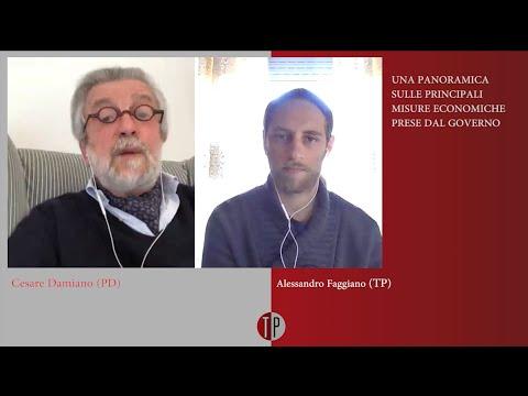TP intervista: Cesare Damiano (PD), ex ministro del Lavoro (07/04/2020)