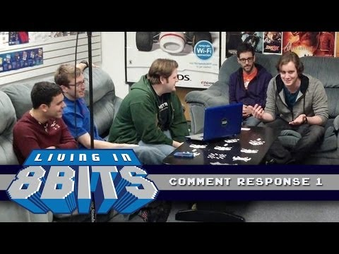 Living in 8 Bits: Comment Responses!