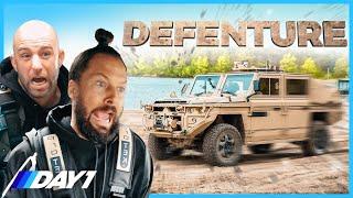 Als COMMANDO'S VLAMMEN door het bos in LEGER VOERTUIG!! | Daily Driver Special | DAY1